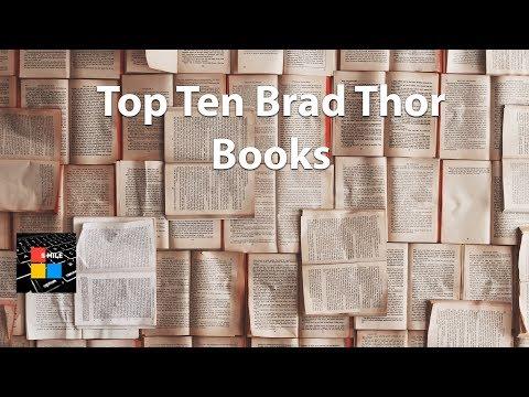 Top Ten Brad Thor Books