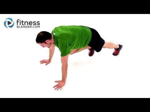 HIIT Cardio Workout - Tabata High Intensity Interval Training