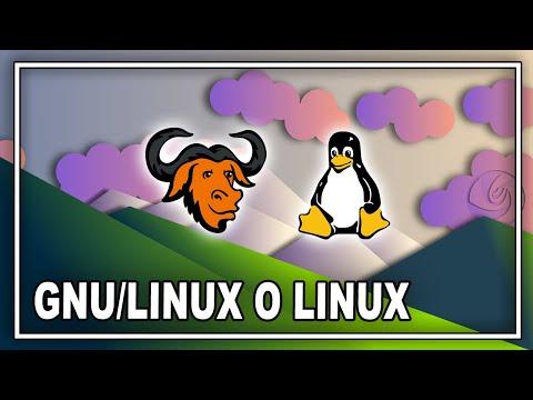 🐧 ¿Es LINUX O GNU/Linux?