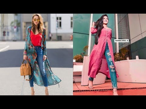 Jeans With Kurti Designs 2019 | Indian Fashion 2019