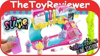 So Slime DIY Slime'licious Scented Slime Station Kit Craft Unboxing Toy Review by TheToyReviewer