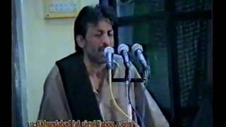 Shab Bedari 2003 (13/24) - Hasan Sadiq - Ya Ali Teri Jori Jeeway (Qasida)