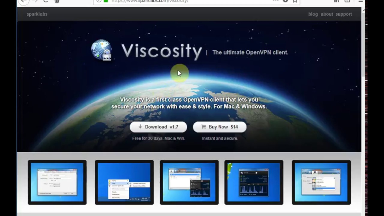Viscosity VPN Tutorial Windows10 - YouTube