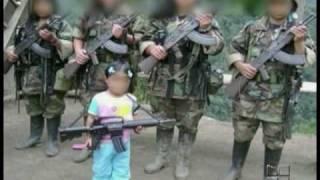 Niños reclutados por las FARC