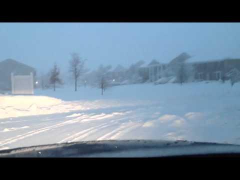Fishers/Novlesville Snow 01-05-14