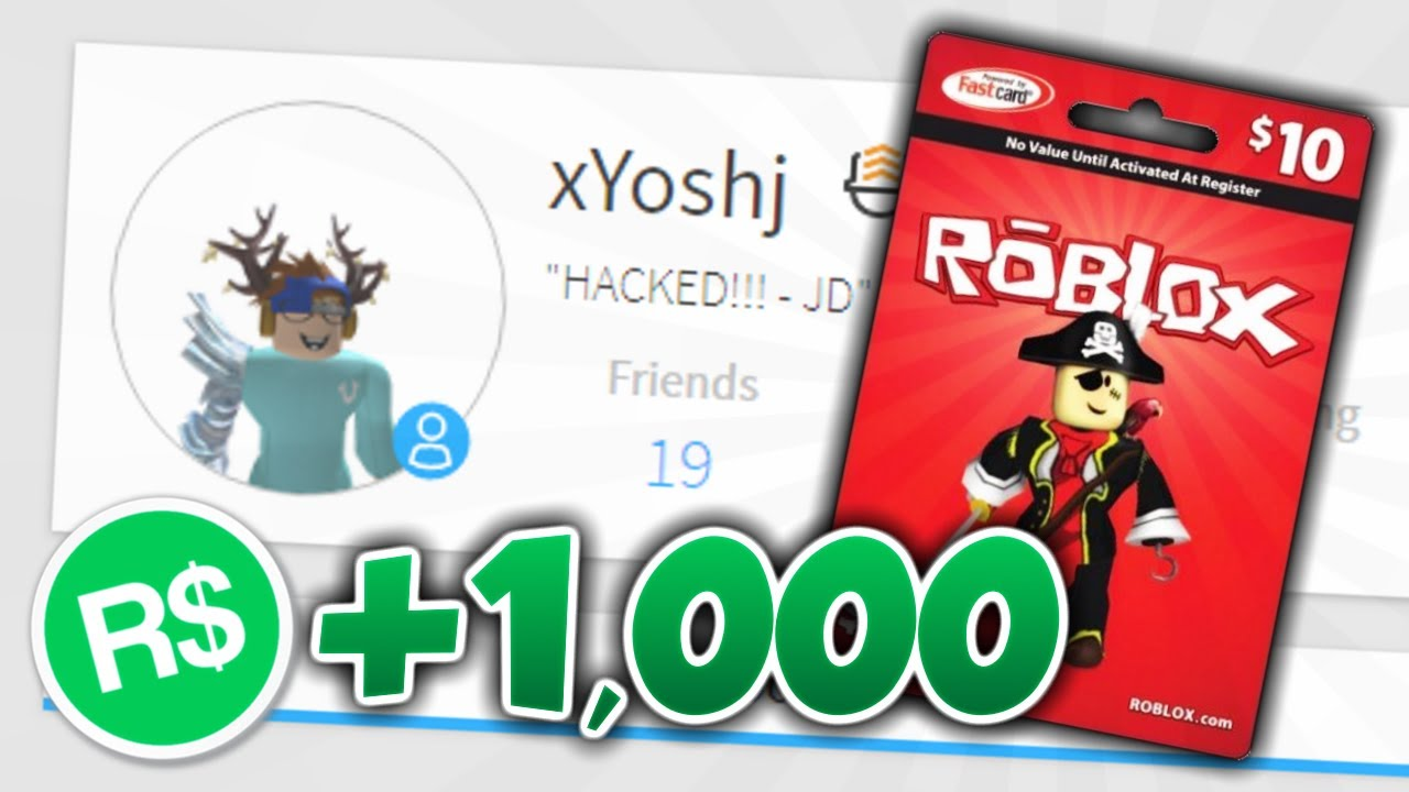 Hacking A Roblox Account And Adding Robux Youtube