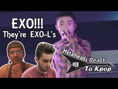 Metalheads React to Kpop | EXO 'Growl' & LIVE performances