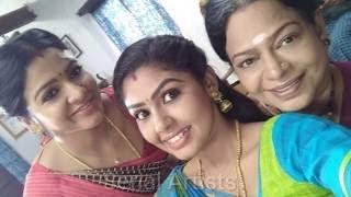pandian stores serial actress villies  in dubsmash villies in dubsmash of tamil tiktok of serial