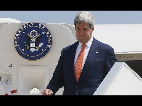 Airlines Halt Israel Flights, Kerry Arrives For Gaza Ceasefire Talks