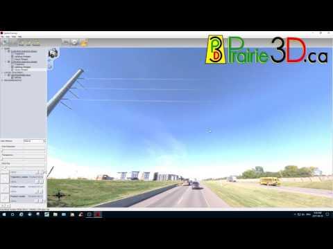 Cirlce Drive, Saskatoon - LiDAR and 360 Imaging Demonstration