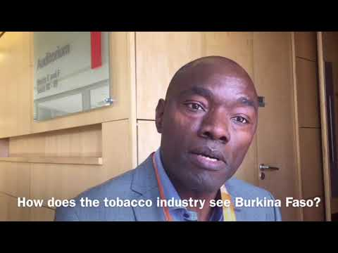World Conference on Tobacco or Health interview ¦ Burkina Faso