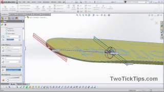 Snowboard Cad Model, Created Using Solidworks