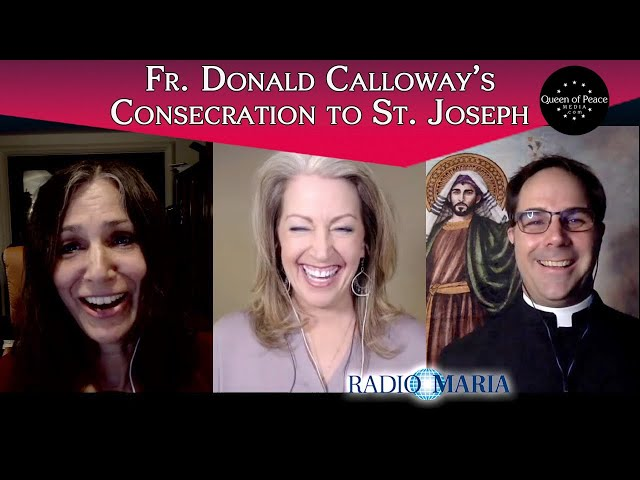 Fr. Donald Calloway speaks with Kendra and Christine about his new book CONSECRATION TO ST. JOSEPH