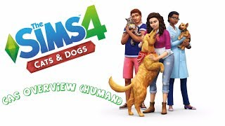 Sims 4 Cats & Dogs Expansion Pack CAS (Human) Overview