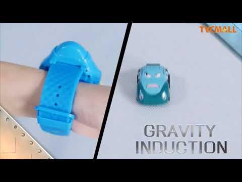 Cartoon Mini RC Car Smart Watch 2.4G Gravity Sensor Racing Car Toys On TVC-Mall.com