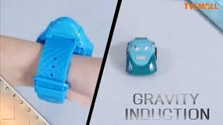 Sensör karikatür Mini RC Araba Smart İzlemek 2.4 G Yerçekimi Araba Oyuncak Yarış TVC-Mall.com
