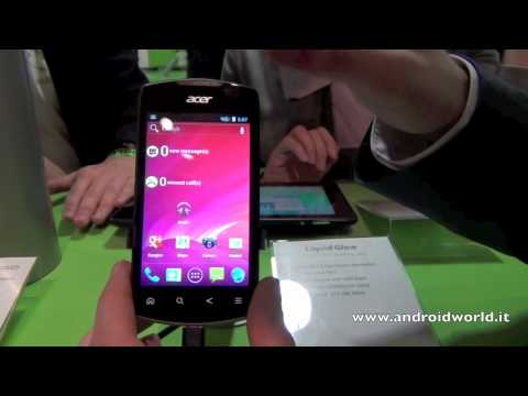 Acer Liquid Glow, anteprima in italiano by AndroidWorld.it