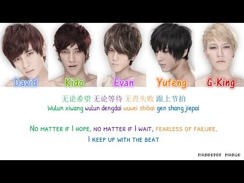 HIT-5 - Running [Chi|Pinyin|Eng Lyrics]