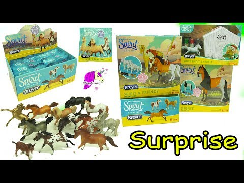 Full Box Unboxing Spirit Riding Free Stallion Breyer Stablemates Horse Surprise Blind Bags