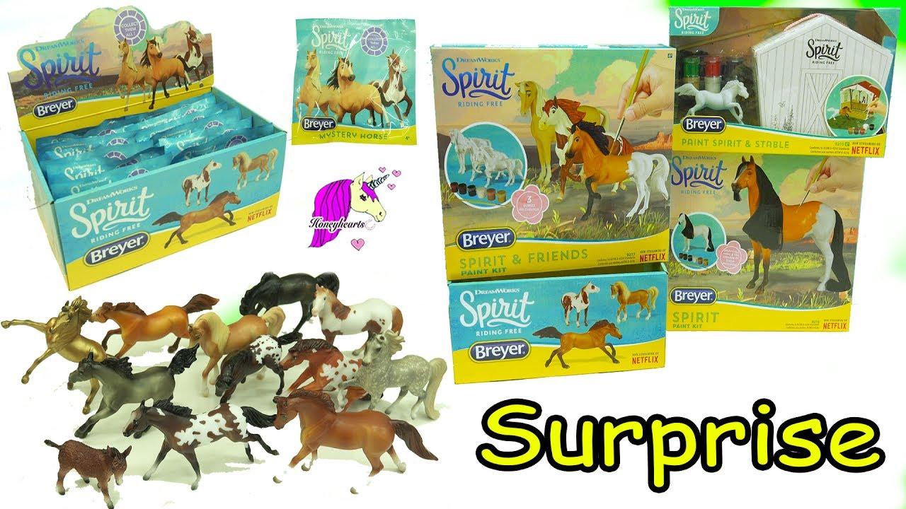 Breyer Spirit Riding Free Horse 12 PACK Mystery Blind Bag Stablemates Series 2