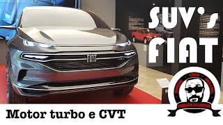SUV FIAT - MOTOR TURBO, CAIXA CVT E DESIGN DO FASTBACK