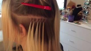 Наращивние волос: