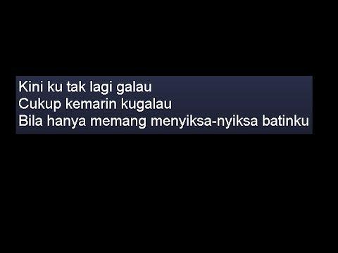 [Video Lirik] Riska Afrilia Indonesian Idol - Tak Lagi Galau