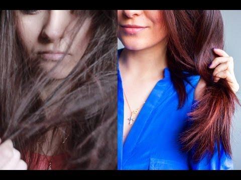 Оживляем сухие и поврежденные волосы / Hair mask