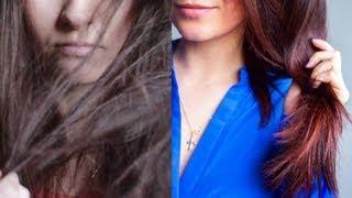 Смотреть видео  если волосы сухие как солома