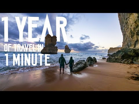 1 YEAR OF TRAVEL IN 1 MINUTE