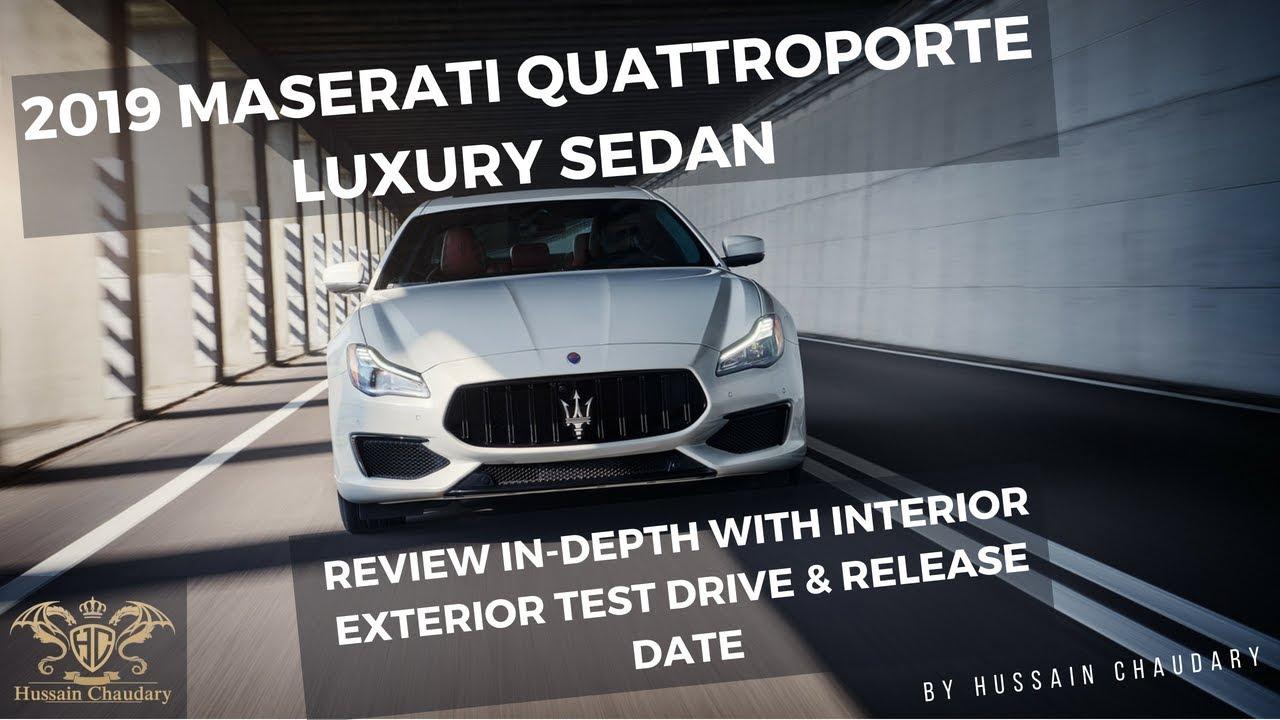2019 Maserati Quattroporte Luxury Sedan Review Indepth Interior