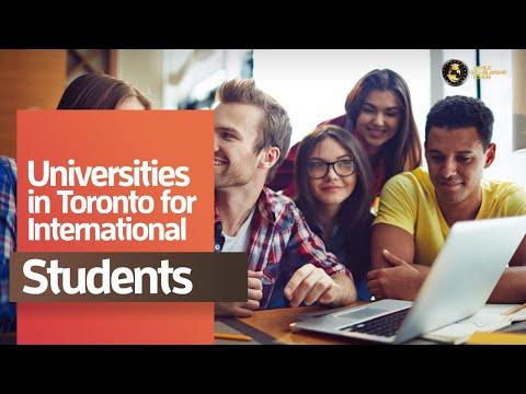 Universities In Toronto For International Students