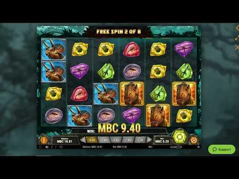 Raging Rex Big Win Bonus Game Online Casino Slot! - 동영상