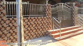 Stainless Steel gate and railing