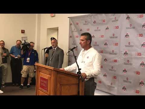 Urban Meyer returns to Ohio State's sideline: 'That was somewhat overwhelming'