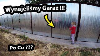 """Wynająłem garaż """"BLASZAK"""" !!! - Ile płacę za Wynajem? (Vlog #340)"""