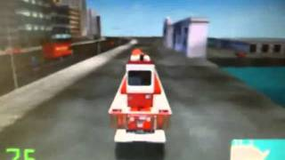 Midtown madness 2 - how to get rid of trailer on fire truck NO DAMAGE CAUSED!