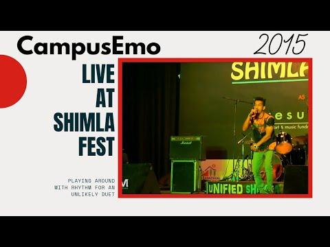 CampusEmo Live at Shimla Fest - 2015