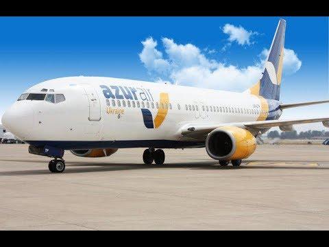 Перелёт Львов - Анталия (UKLL/LWO - LTAI/AYT) Boeing 737-800 Azur Air