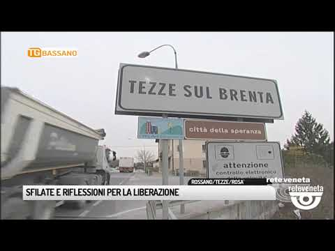 TG BASSANO (24/04/2019) - SFILATE E RIFLESSIONI PE...