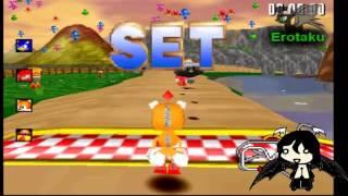 Repeat youtube video Ero jugando Sonic R (desbloqueando y rompiendo el sello de tails doll)