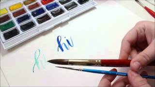 Video Introduction to Brush Lettering | Brushes download MP3, 3GP, MP4, WEBM, AVI, FLV Agustus 2018