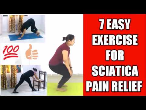 7 best sciatica nerve pain relief moves  5 minutes yoga