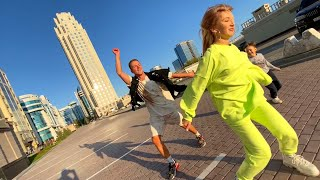 NЁMA feat. Домбай - Лада Приора DJ MriD Remix - Танец (vernikov_grisha & jeny_miki)