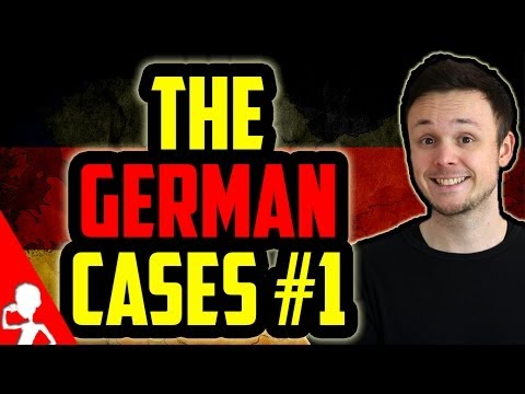 The German Cases | Nominative and Accusative