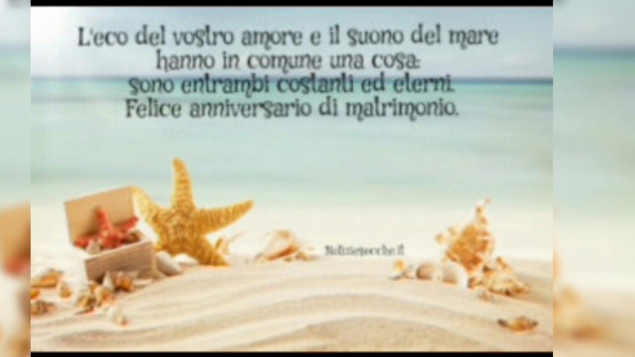 Estremamente Tanti auguri di buon anniversario di matrimonio - YouTube AY24