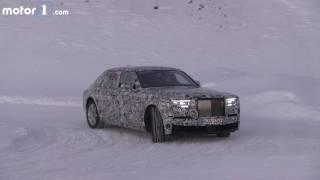 2018 Rolls Royce Phantom spy video