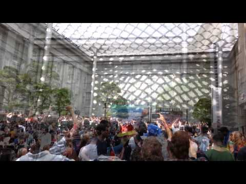World Cup Final Watch Party at National Portrait Gallery