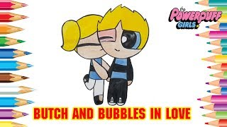 Rowdyruff Boys Butch had to change their hair color when they were in love with Bubbles PPG #366