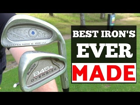 WHAT ARE THE BEST GOLF IRONS EVER MADE  FROM THE 90'S